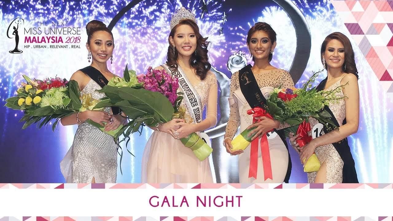 The Miss Universe Malaysia 2018 Gala Night