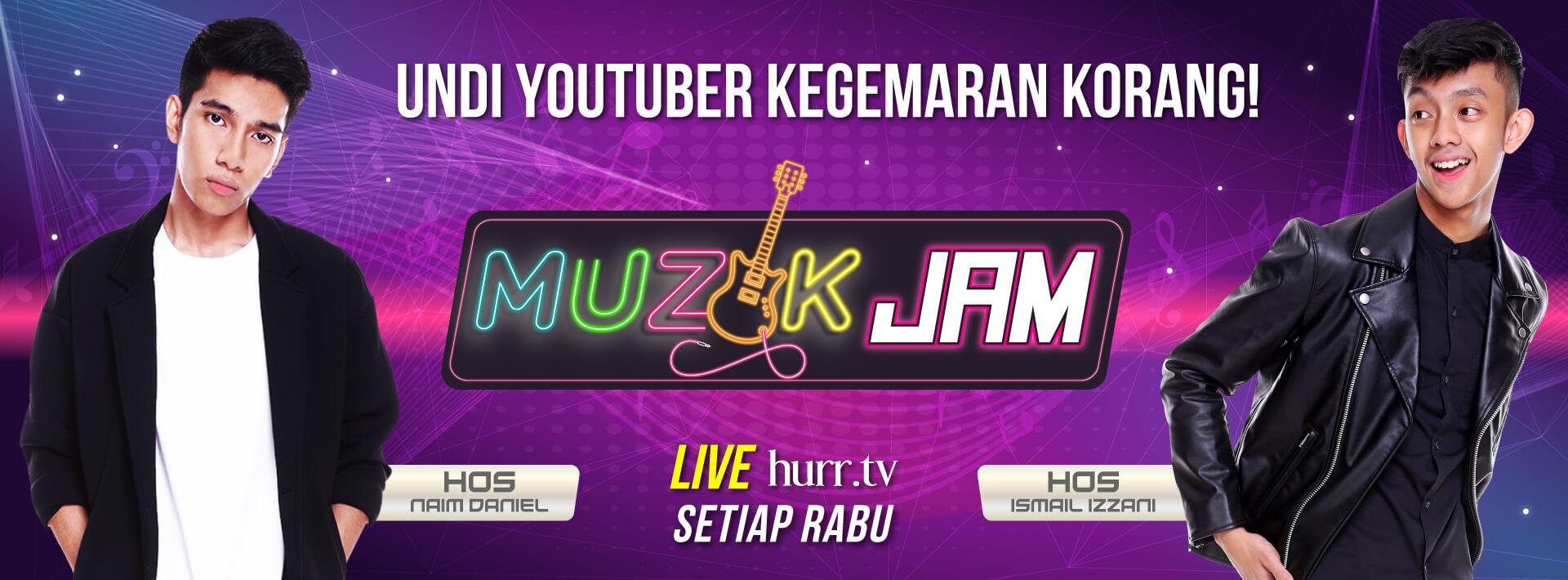 Muzik Jam - Website Banner v2
