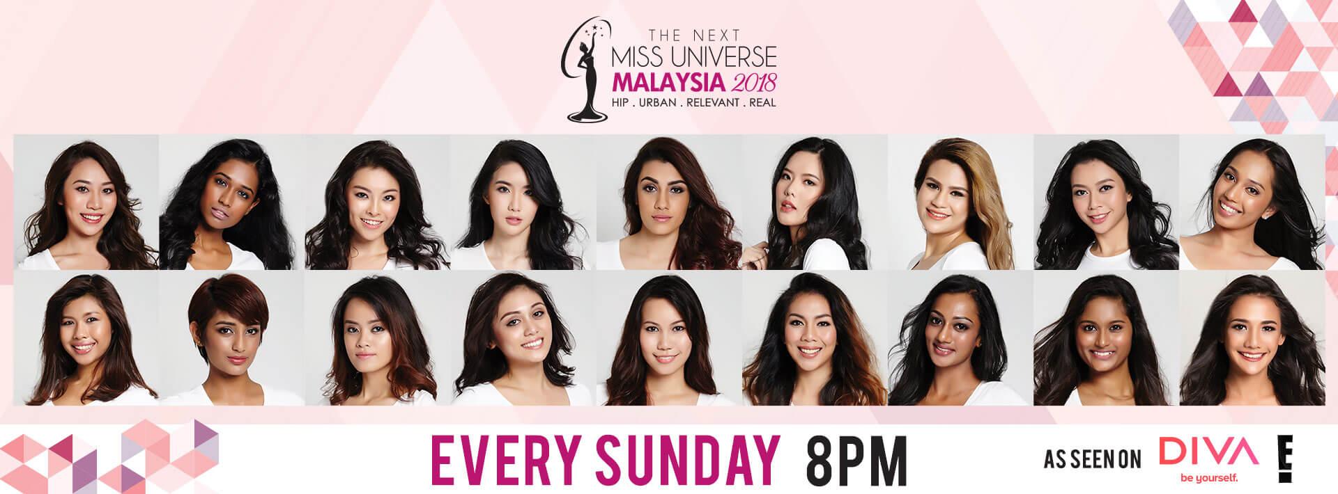The Next Miss Universe Malaysia 2018