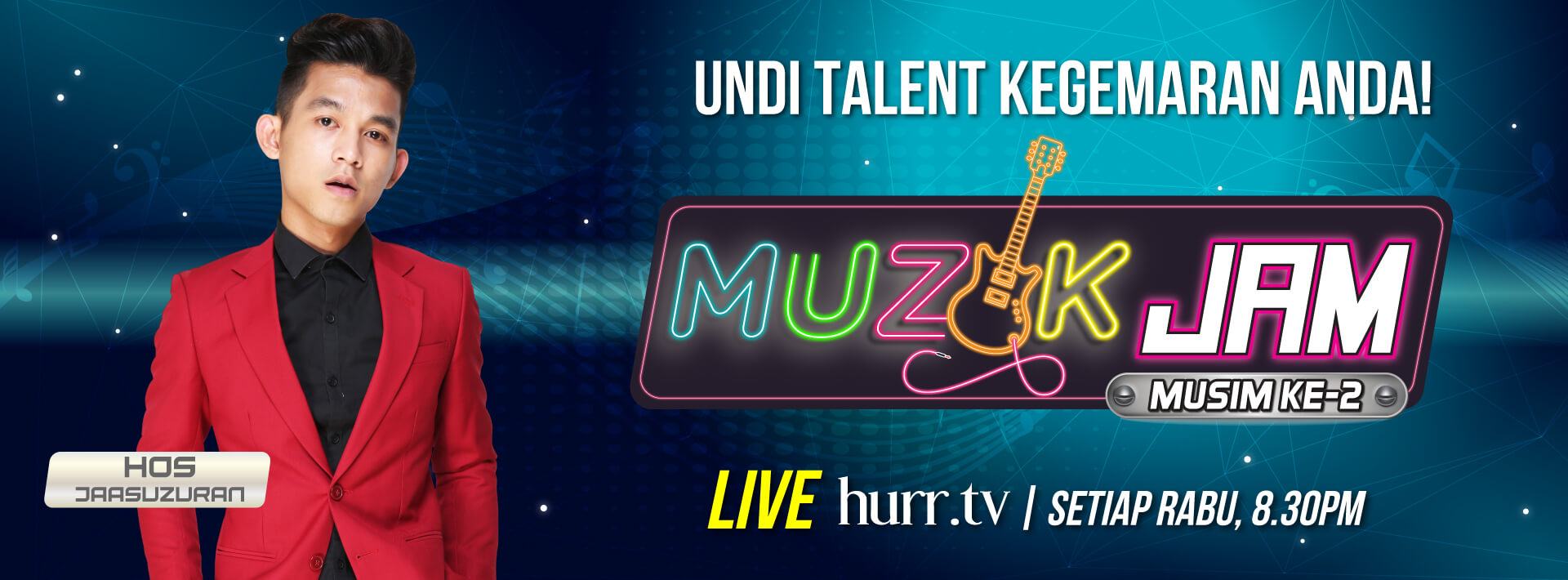 Muzik Jam Season 2 Website-Banner