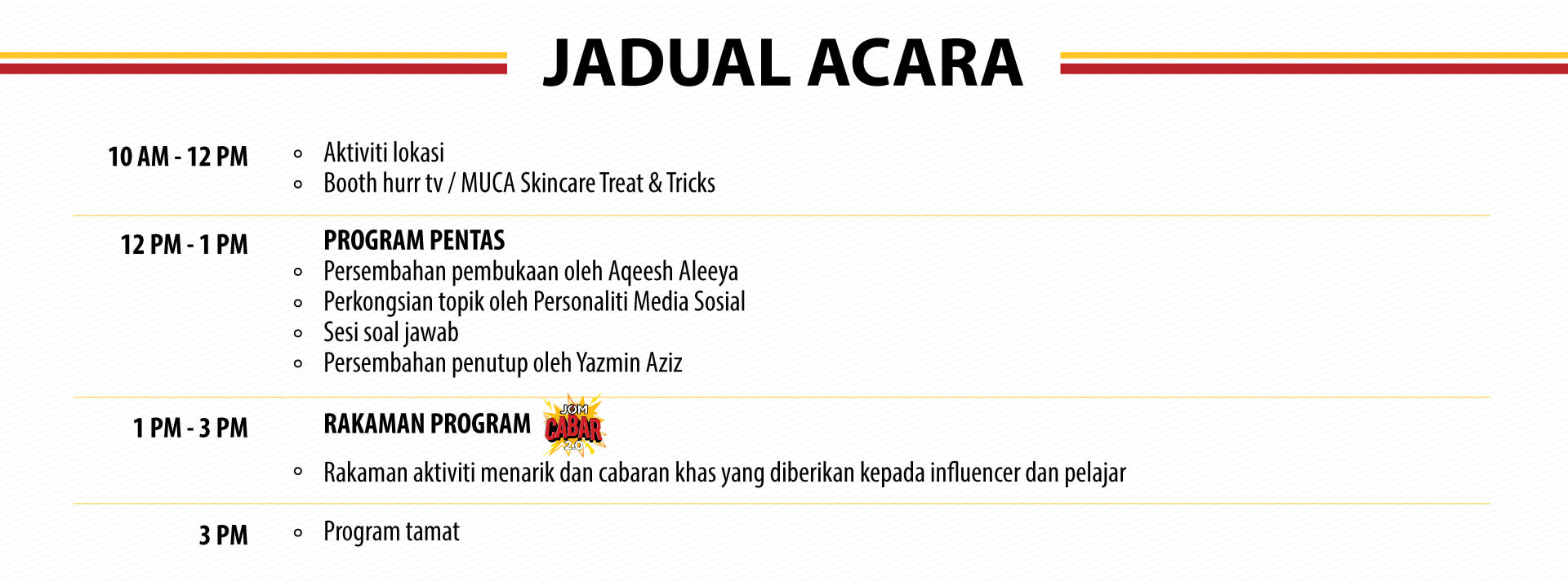 FYI-UPM-Jadual